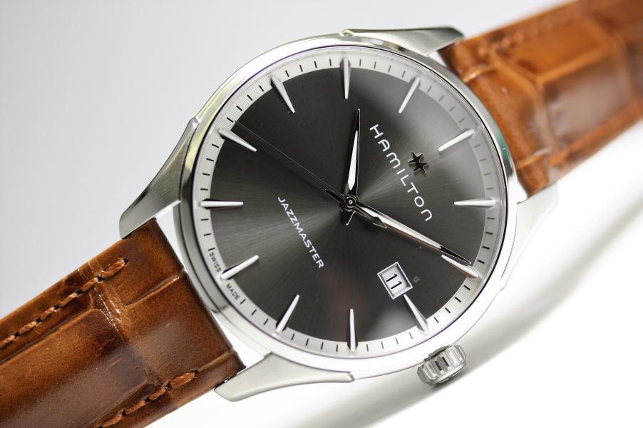 スイス製Hamilton【ハミルトン】JazzMaster Gent【ジャズマスタージェント】クォーツ腕時計H32451581/正規代理店商品