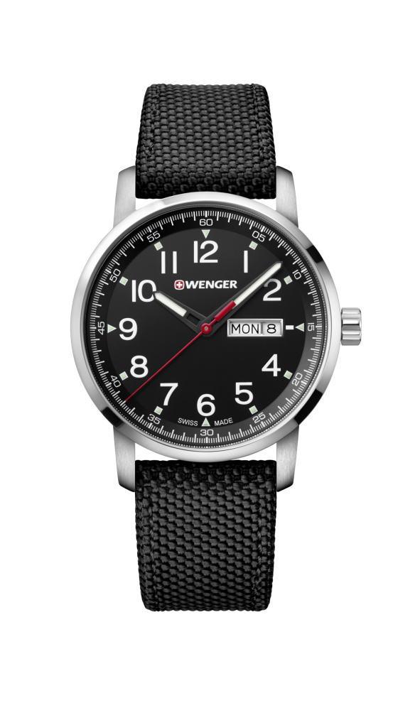 スイス製WENGER【ウェンガー】Attitude【アティチュード】クォーツ・デイデイト腕時計/正規代理店商品