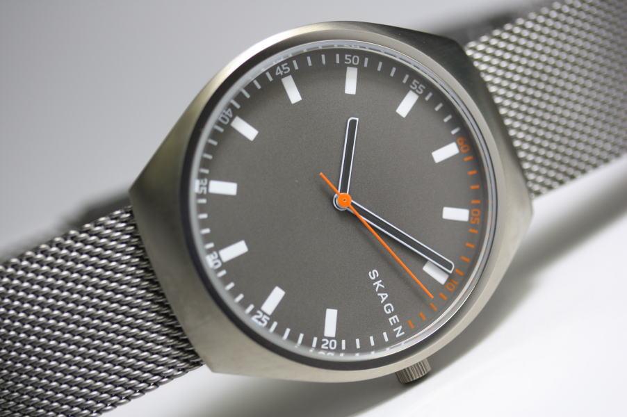 北欧デンマークのSKAGEN【スカーゲン】Grenen Steel-Mesh・デザインウォッチ/正規代理店商品メンズ