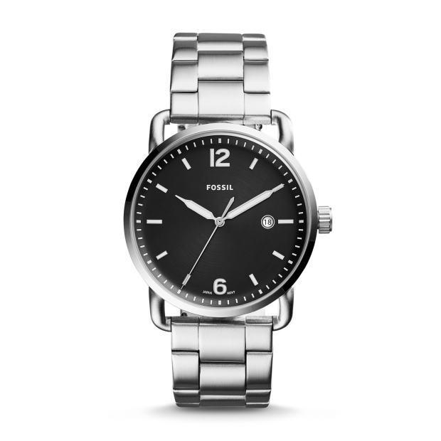 シンプルなFOSSIL【フォッシル】THE COMMUTERヴィンテージ・デザインウォッチ/男性用腕時計