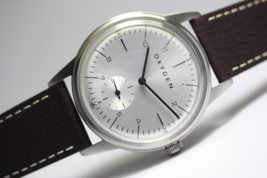 フランスのOXYGEN【オキシゲン】City40 Elliotクォーツ・デザインウォッチ/男女兼用腕時計/正規代理店商品