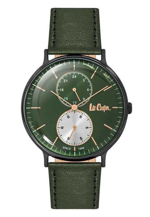 イギリスのデニムメーカーLee Cooper【リークーパー】のクォーツ腕時計/正規代理店商品