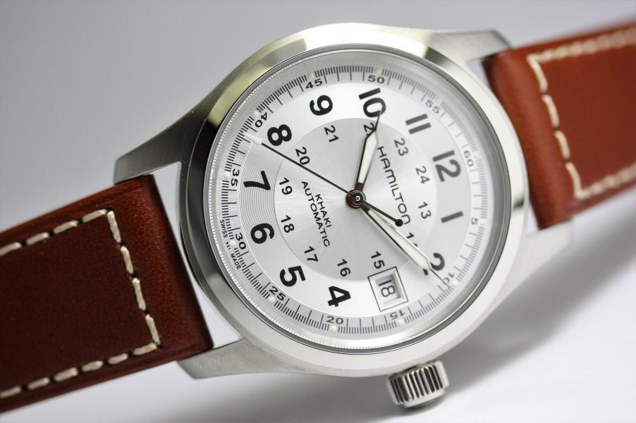 67ee596ce HAMILTON khaki field auto automatic winding watch / Amelia film model ...
