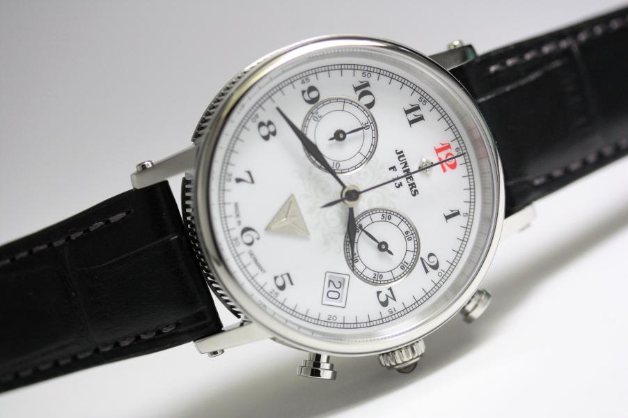 ボーイズサイズ!ドイツ製Junkers【ユンカース】Expedition South Americaクォーツ・クロノグラフ腕時計