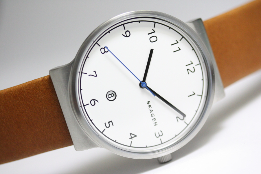 北欧デンマークSKAGEN【スカーゲン】ANCHER【アンカー】クォーツ腕時計/メンズ・デザインウォッチSKW6433