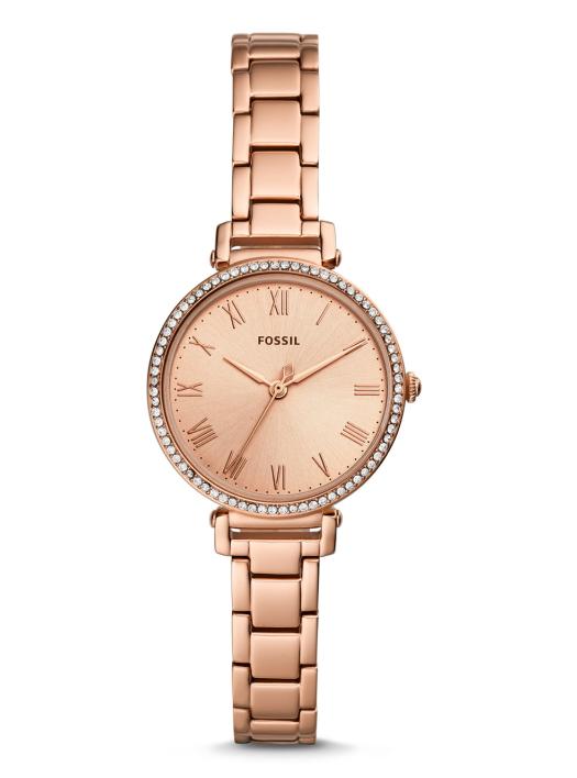 綺麗なローズゴールドのFOSSIL【フォッシル】KINSEYレディース・デザインウォッチ/女性用腕時計/正規代理店商品