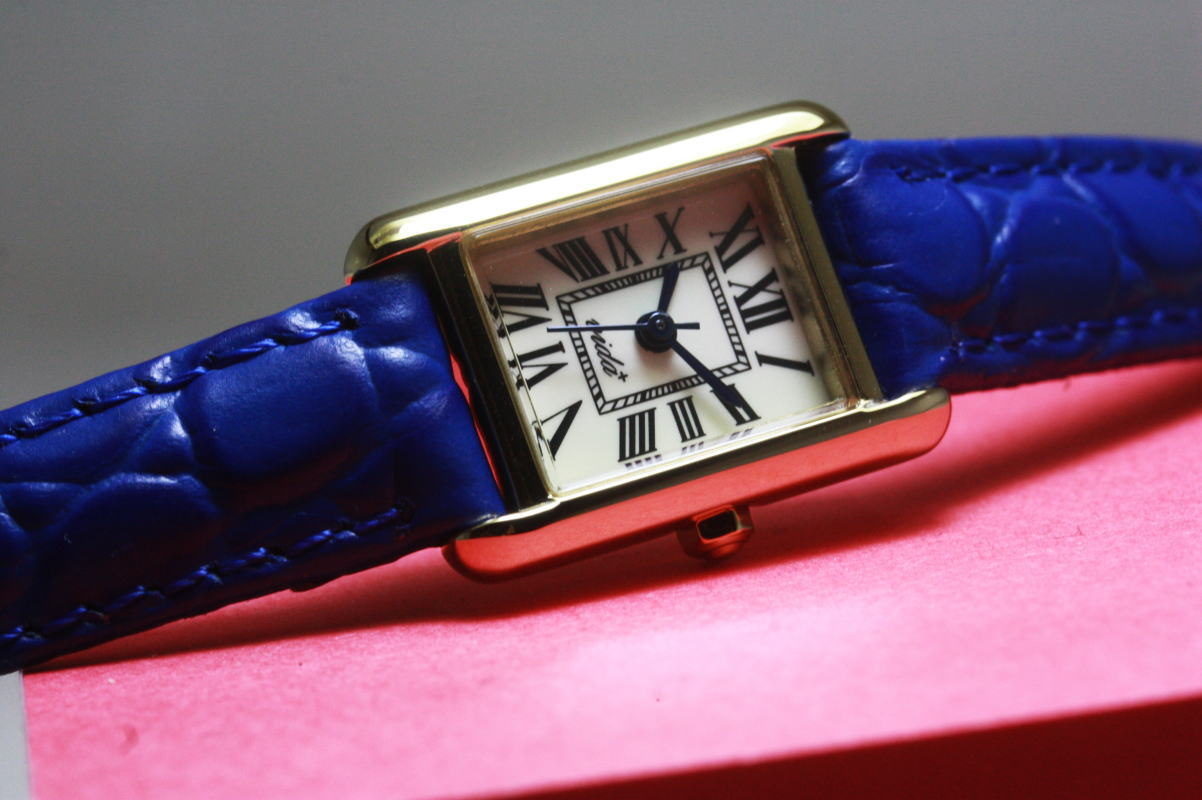 【レディース】VIDA+【ヴィーダプラス】ミニレクタンギュラーデザインウォッチ/女性用腕時計/