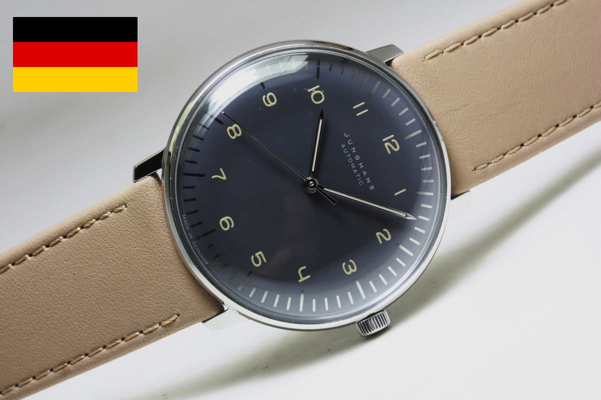 Katsuboya junghansmax bill self winding wristwatch in for Bauhaus design shop