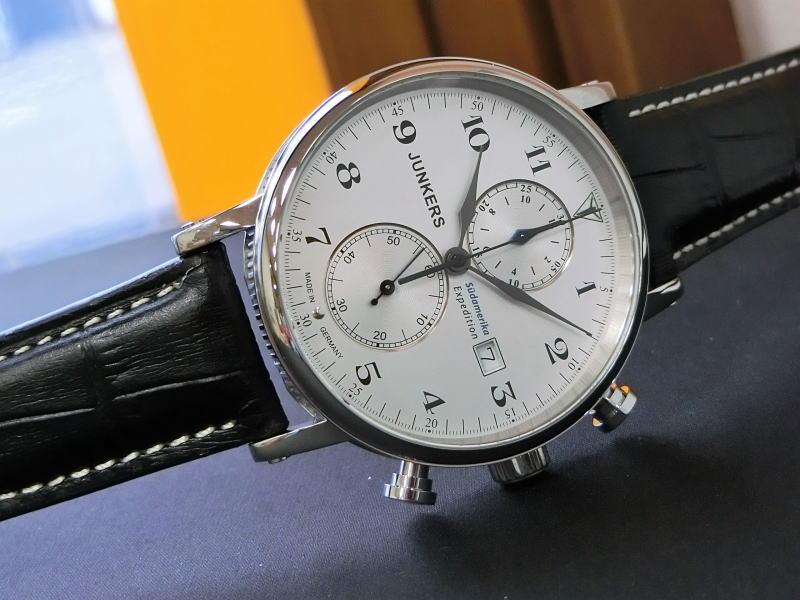 ドイツ製Junkers【ユンカース】Expedition South Americaクォーツ・クロノグラフ腕時計/正規代理店商品/メンズ