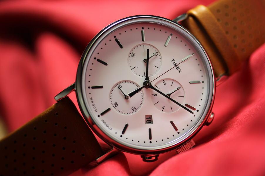TIMEX【タイメックス】Weekender Fairfield【ウィークエンダー・フェアフィールド】クォーツ・クロノグラフ腕時計41mm