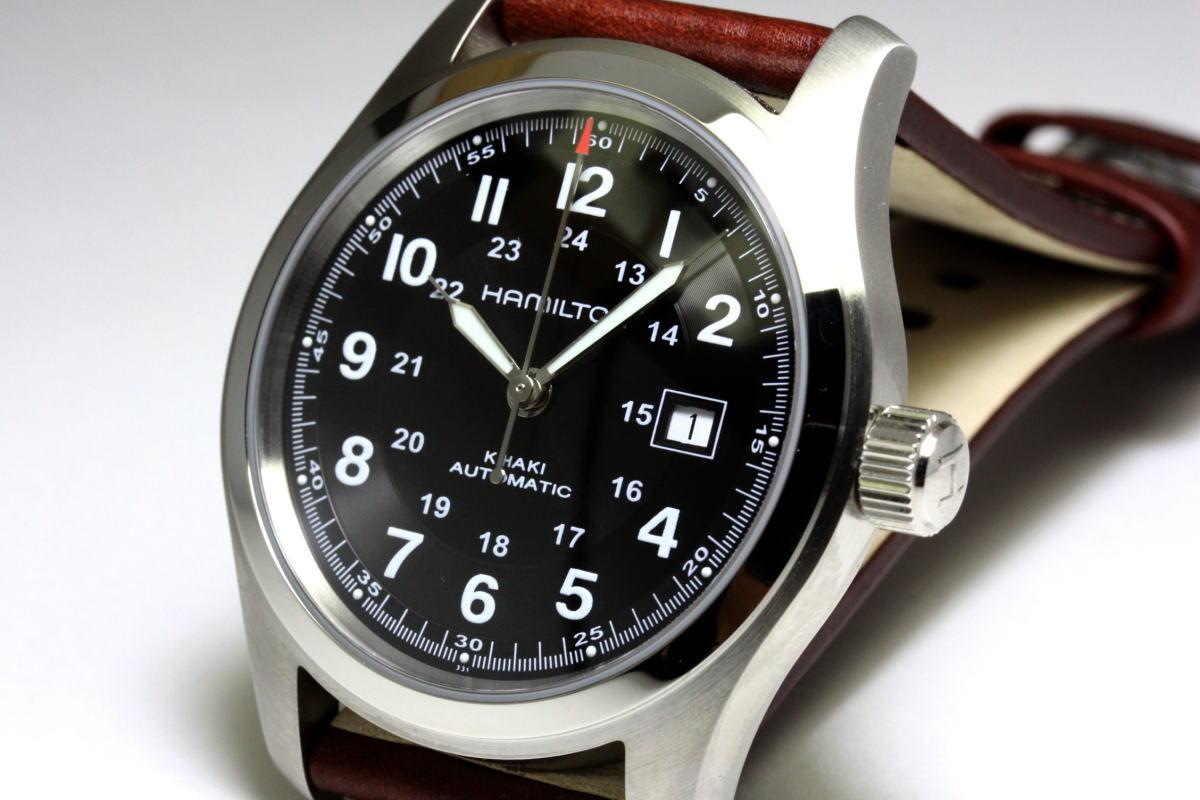 katsuboya hamilton khaki khaki automatic automatic winding watch