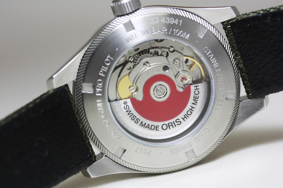 ORISBig 冠 ProPilot 自动计时手表制造瑞士 / 军用手表