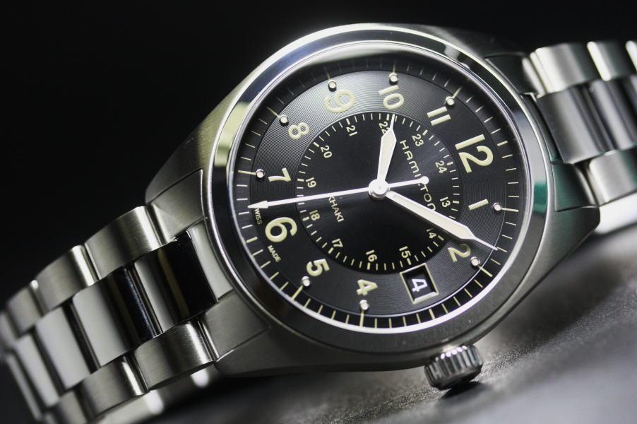 Hamilton【ハミルトン】カーキフィールド・クォーツ腕時計ミリタリーウォッチH68551133/正規代理店商品
