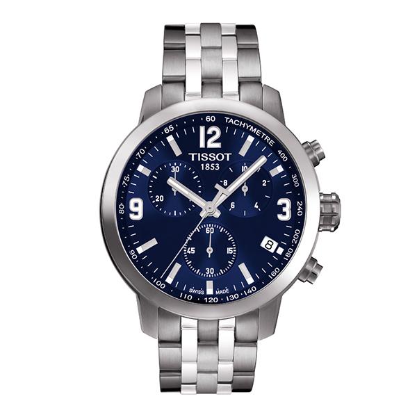 スイス製Tissot【ティソ】PRC200クォーツ・クロノグラフ腕時計/正規代理店商品/送料無料/メンズ