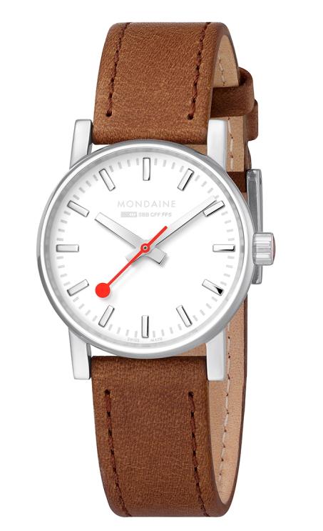 サイズ30ミリのレディース!スイス鉄道公式時計MONDAINE【モンディーン】Evo2【エヴォ2】シーズナルコレクション鉄道腕時計/正規代理店商品/女性用腕時計/送料無料/クリスマス/腕時計