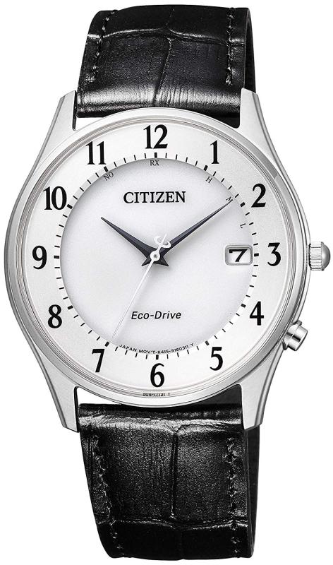 ソーラー電波時計!CITIZEN【シチズン】エコドライブ光発電クォーツ腕時計/メンズサイズ/サファイアガラス