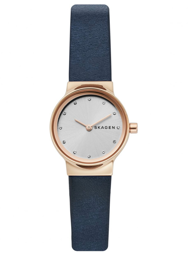 【レディース】北欧デンマークSKAGEN【スカーゲン】Freja Rose女性用クォーツ腕時計/デザインウォッチ/正規代理店商品