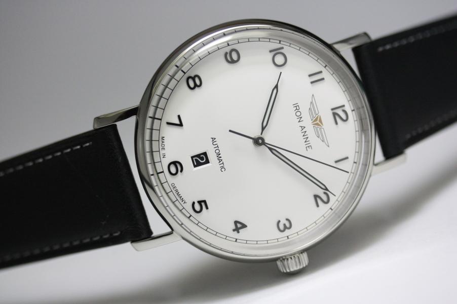 ドイツ製IRON ANNIE【アイアン・アニー】Amazonas自動巻き腕時計/メンズウォッチ/正規代理店商品/Junkersユンカース