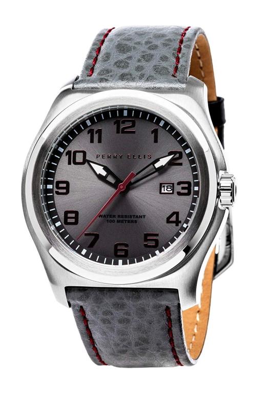 アメリカ・ブランドのPERRY ELLIS【ペリーエリス】MEMPHIS【メンフィス・デザイン】クォーツ腕時計/デザインウォッチ/正規代理店商品