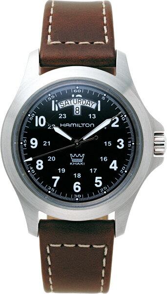 日本限定HAMILTON【ハミルトン】カーキ・キング・デイデイトクォーツ腕時計/ミリタリーウォッチ/メンズウォッチ/正規代理店商品