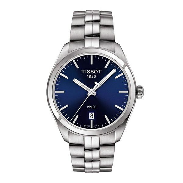 スイス製Tissot【ティソ】PR100クォーツ腕時計T101.410.11.041.00/正規代理店商品/メンズウォッチ
