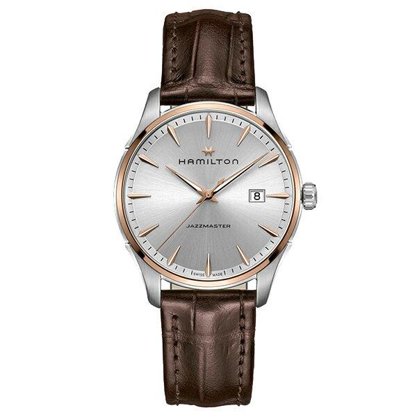 Hamilton【ハミルトン】JazzMaster Gent【ジャズマスタージェント】クォーツ腕時計H32441551/正規代理店商品