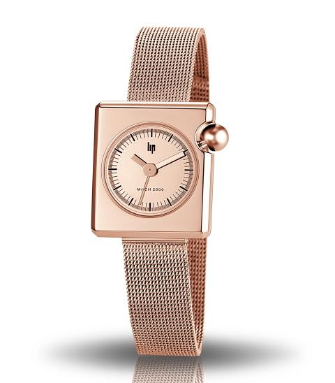 【レディース】フランスLIP【リップ】MACHマッハ2000 Rose Goldローズゴールド/女性用腕時計/日本未入荷モデル