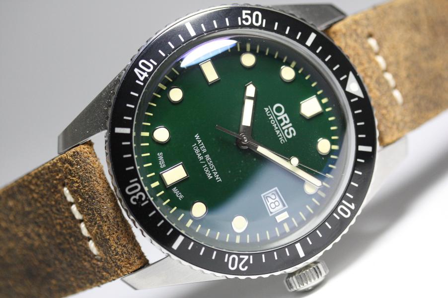 復刻!スイス製ORIS【オリス】ダイバーズ65自動巻き腕時計/ケース直径42ミリのメンズウォッチ/正規代理店商品/送料無料