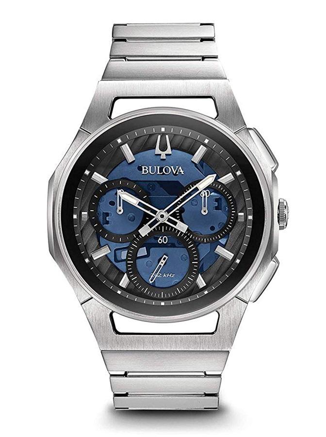 世界初のカーブしたクロノグラフ・ムーヴメント搭載!BULOVA【ブローバ】Curv【カーブ】クォーツ腕時計/正規代理店商品
