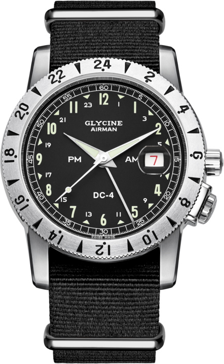 5f72d3e185 スイス製GLYCINE【グリシン】AirmanVintage【エアマン・ビンテージ】Noon