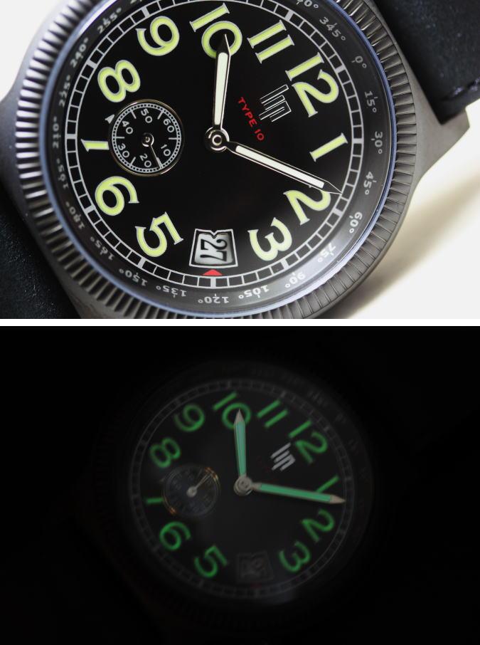 飞行员腕表献给英雄的法国 LIPT10 克罗伊岛 du Sud 石英手表 / 法国