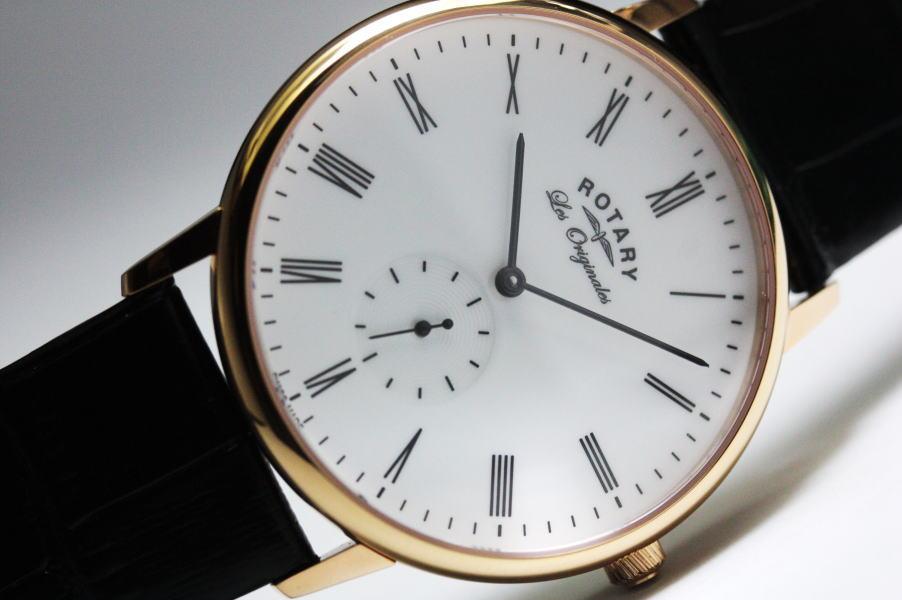 英国で人気のスイス製ROTARY【ロータリー】Kensington【ケンジントン】クラシック・クォーツ腕時計/正規代理店商品