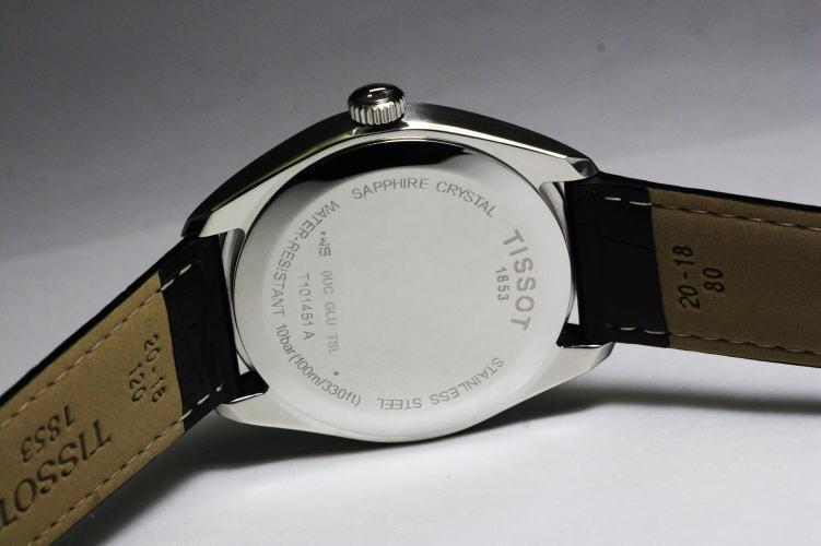 在 10 秒中区别! 和瑞士 TissotPR100 石英计时手表 T101.451.11.051.00