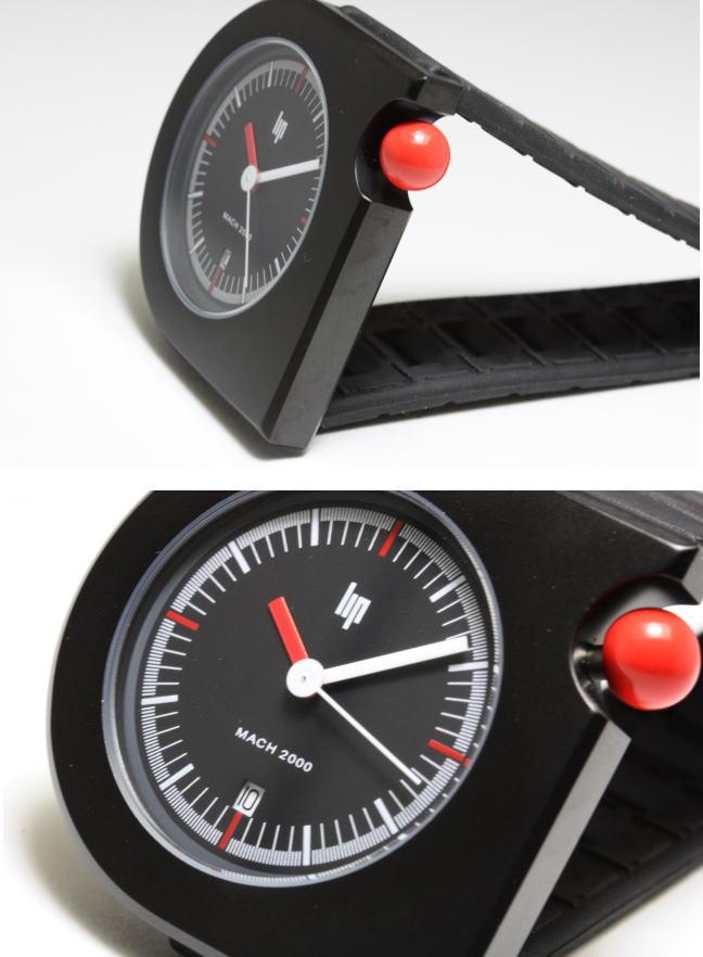Katsuboya france made watch lip mach 2000 mafia moon design watch and watches rakuten global for Watches of france