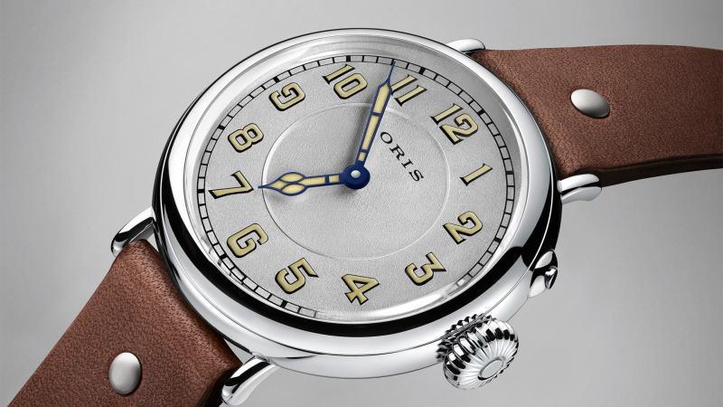 世界限定1917本のORIS【オリス】ビッグクラウン自動巻き腕時計//ミリタリーウォッチ/正規代理店商品