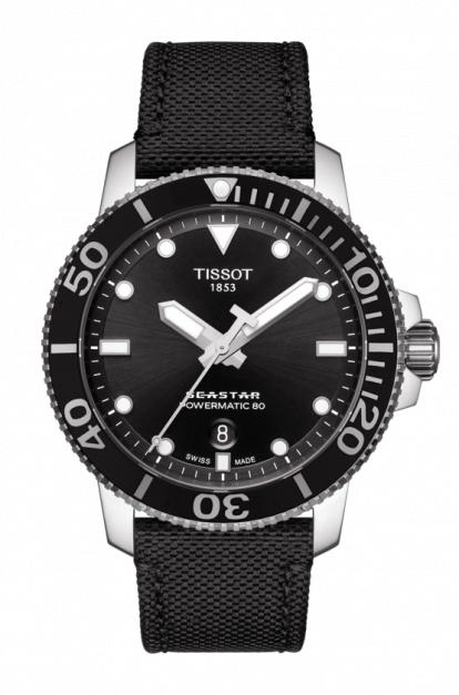日本限定!スイス製Tissot【ティソ】Seastar 1000【シースター】自動巻き腕時計/300m防水/正規代理店商品/Powermatic80搭載