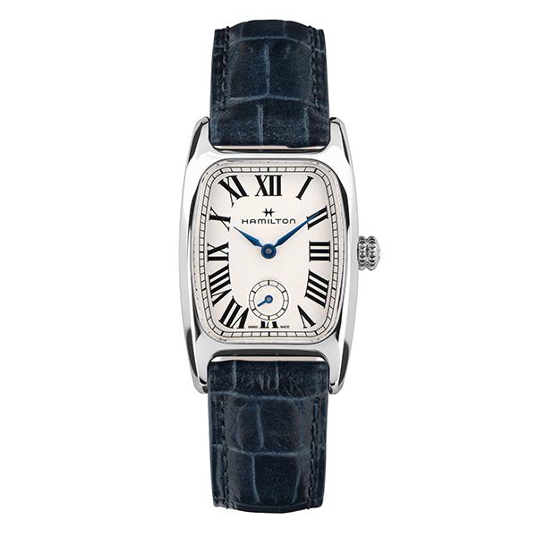 女性用!アメリカン・クラシック・デザイン!HAMILTON【ハミルトン】Boulton【ボルトン】復刻モデル/クォーツ腕時計/正規代理店商品/レディースサイズ/女性用腕時計