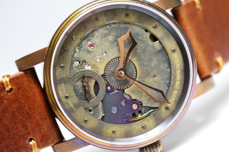 ドイツ製SCHAUBURG WATCH 【シャウボーグ・ウォッチ】スチームパンク手巻き腕時計/正規代理店商品/新品未使用