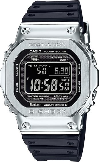 CASIO【カシオ】G-SHOCKフルメタルBluetooth搭載 電波ソーラー【GMW-B5000-1JF】腕時計/スピードモデル/国内正規流通商品