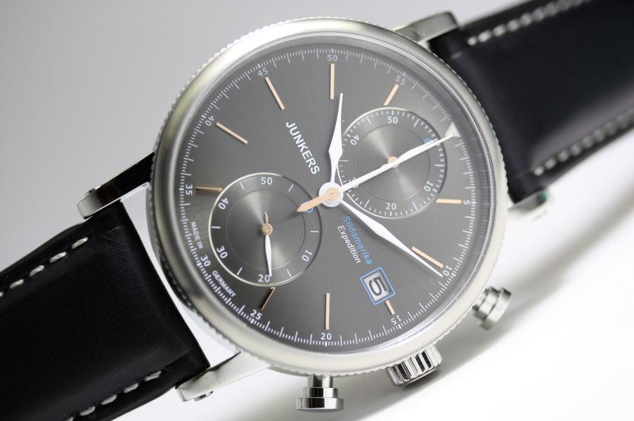 ドイツ製JUNKERS【ユンカース】Expedition South Americaクォーツ・クロノグラフ腕時計/正規代理店商品