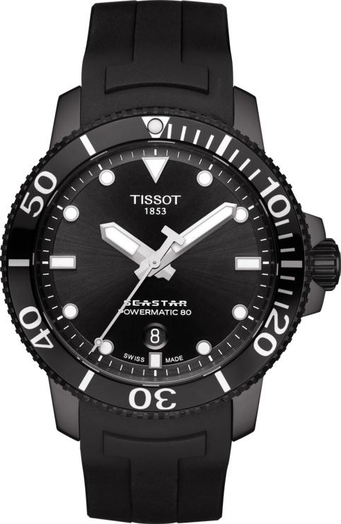 スイス製Tissot【ティソ】Seastar 1000【シースター】自動巻き腕時計/300m防水/正規代理店商品/Powermatic80搭載
