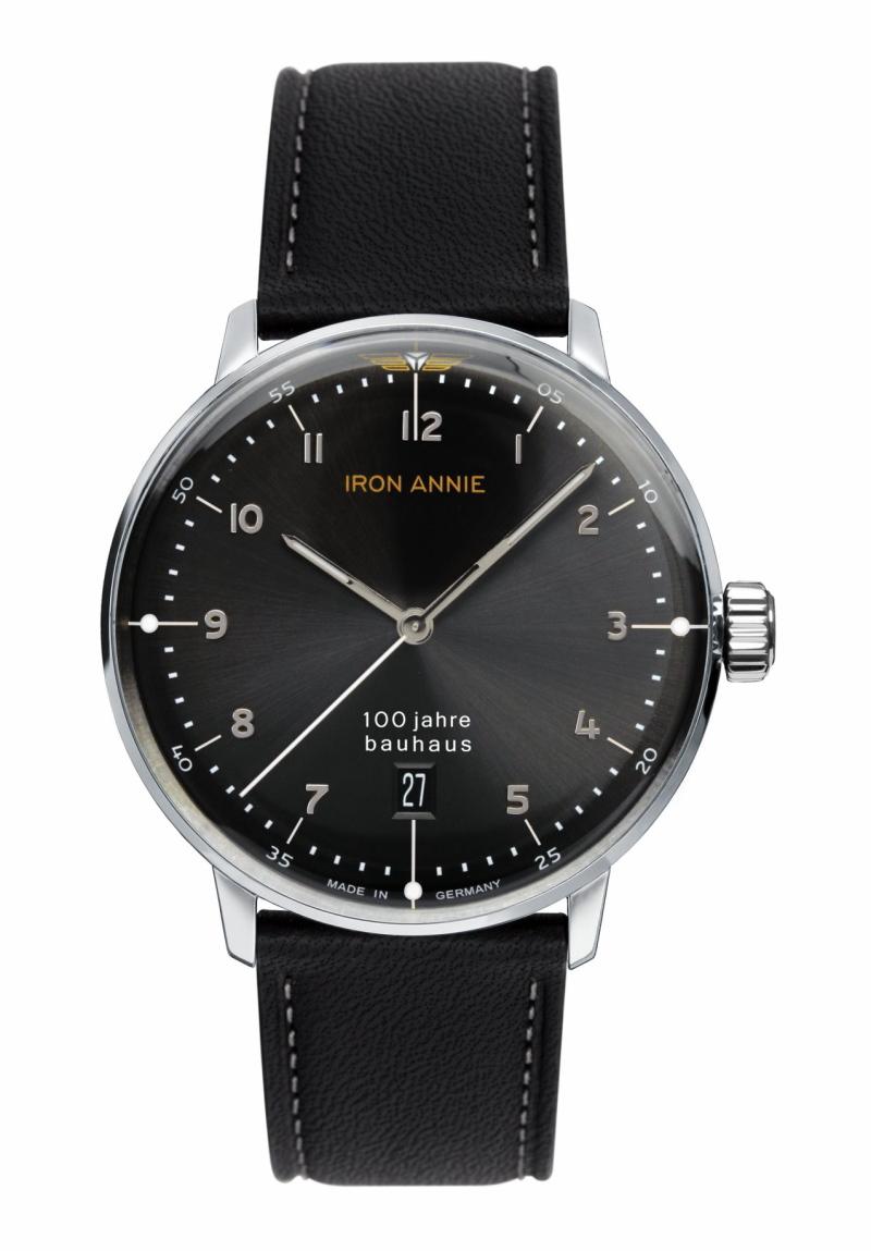 流通限定のドイツ製IRON ANNIE【アイアン・アニー】Bauhaus【バウハウス】100周年記念クォーツ腕時計/メンズウォッチ/正規代理店商品/Junkersユンカース
