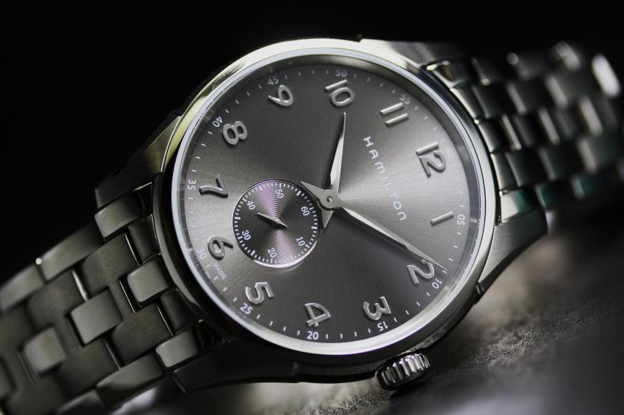 スモールセコンド採用!Hamilton【ハミルトン】Jazzmaster Thinline【ジャズマスター・シンライン】クォーツ腕時計/メンズウォッチ/正規代理店商品