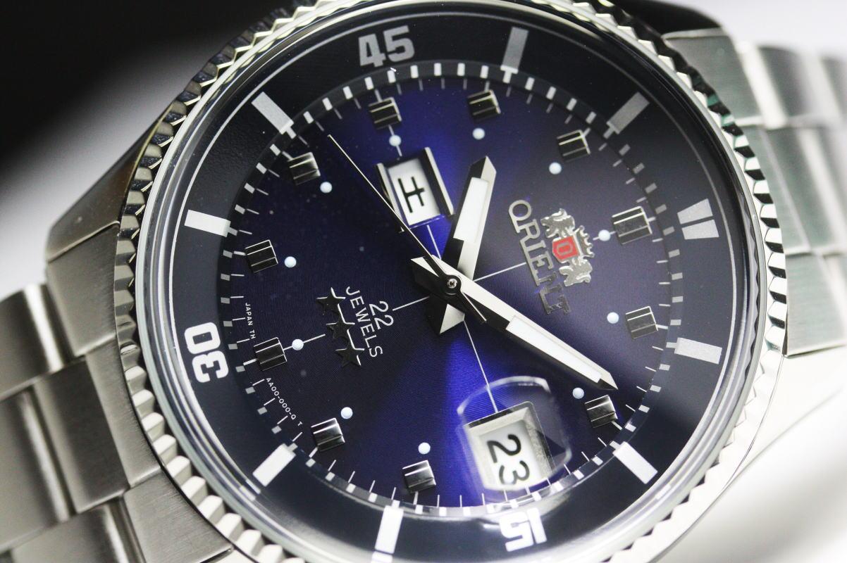 在日本制造 ! 转载 ORIENTKING 大师自动计时手表前国王潜水员 日本制造的