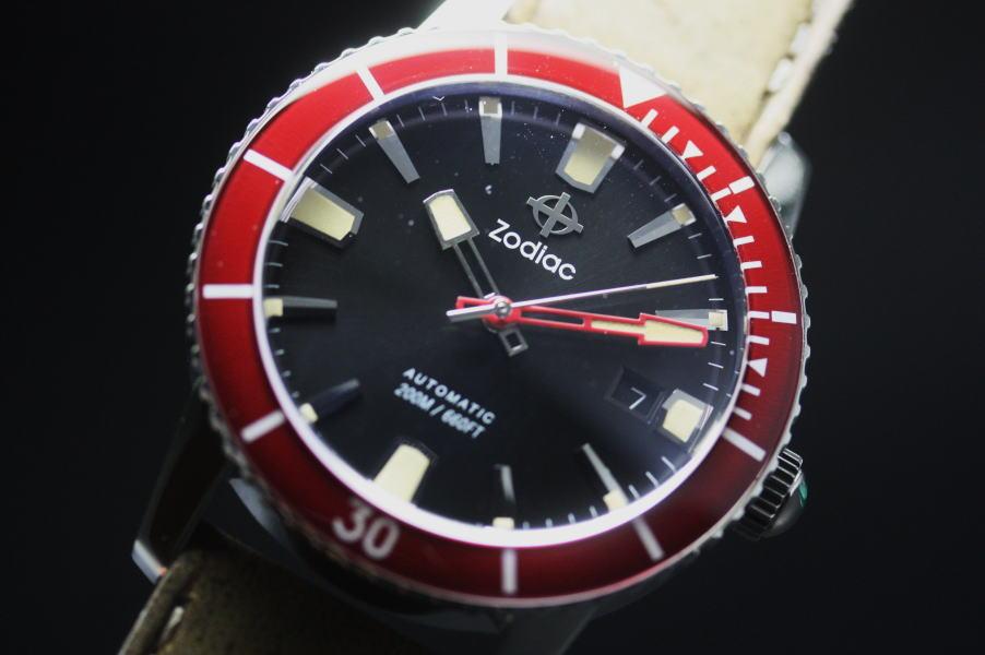 ZODIACSuper 海 Wolf53 自动计时手表瑞士制造的