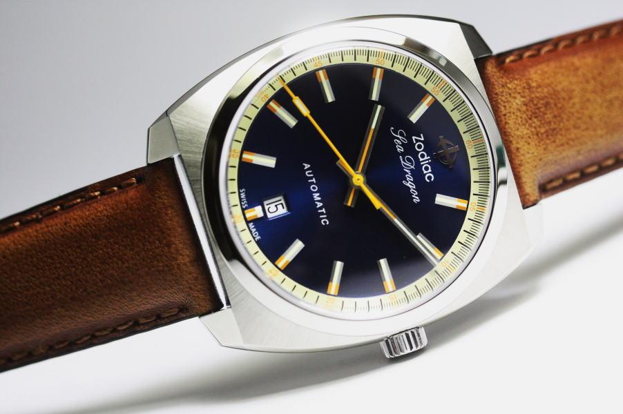 復刻!スイス製ZODIAC【ゾディアック】SEA DRAGON【シードラゴン】自動巻き腕時計/正規代理店商品