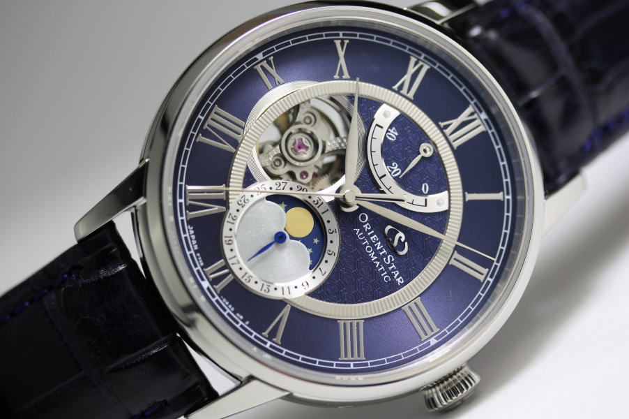 be lunar watches llfj watch trainmaster timepiecestore men moon ball phase