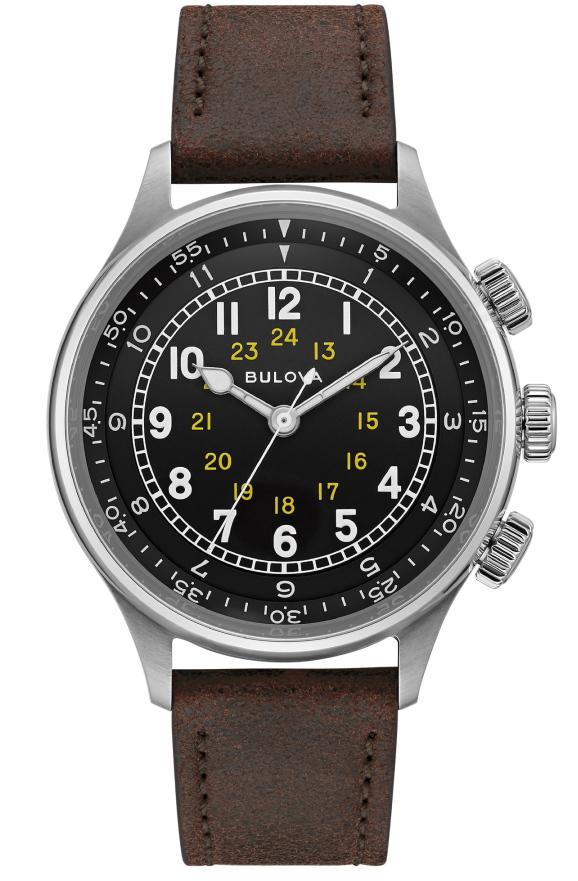 1944年の復刻モデル!BULOVA【ブローバ】Military【ミリタリー】A-15自動巻き腕時計/正規代理店商品/送料無料/腕時計/米軍