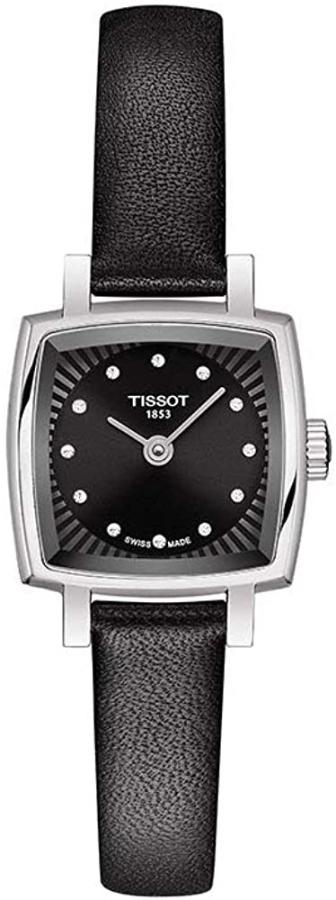 【女性用腕時計】スイス製Tissot【ティソ】T-レディ ラブリー・クォーツ腕時計/Lovely Square【ラブリースクエア】送料無料/クリスマス/正規代理店商品/レディースウォッチ/プレゼントにもオススメ