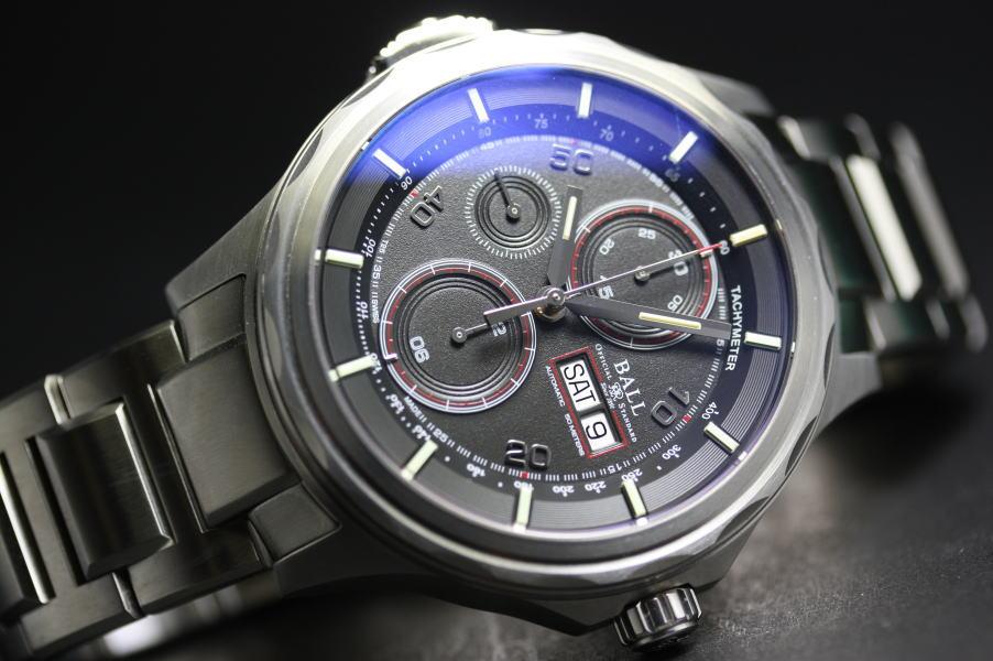 半額以上!スイス製BALL WATCH【ボールウォッチ】SLIDE CHRONOGRAPH【スライドクロノグラフ】自動巻き腕時計/並行輸入商品